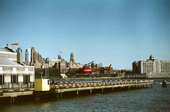 heliport (Yun-Chen Jenny) Tags: nyc newyorkcity helicopter eastriver lowermanhattan heliport