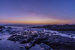 Late glow (jim.tavasci) Tags: sunset sea beach rocks southaustralia