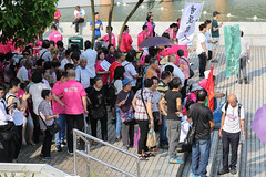5-15-2016_Demonstration_MPA_7 (macauphotoagency) Tags: china new money streets outdoors university chief police government block macau demonstrations executive sai donations association chui macao on may15 protestants policeforce 5152016 newmacauassociation insatisfation