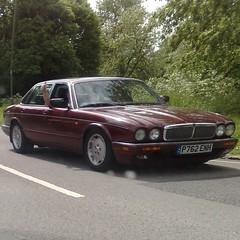 (uk_senator) Tags: burgundy 1996 jaguar x300 xj6