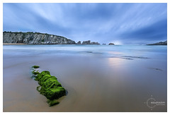 COVACHOS (Estudios BiM) Tags: espaa costa sol mar spain agua playa arena cielo aire santander roca acantilado cantabria covachos