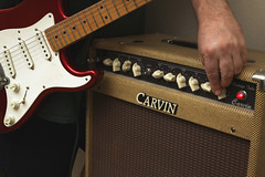 Day 2685 - Day 129 (rhome_music) Tags: canon photography eos guitar amp fender 7d tween dailyphoto stratocaster dayinthelife gl photojournal reverb carvin year8 canonphotography 365days guitarlove apicaday musictomyears 365more 365alumni 2016yip 2016inphotos daysin2016 photosin2016 365daysyear8 365days2016