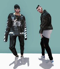 I miss the feeling of you missing me. (Levi Megadon // *OMG*) Tags: street new urban men look leather fashion shirt ink hair beard pumpkin blog sweater clothing tank pants top tubes ripped style fresh sneakers clothes sl jacket secondlife footwear mens dope tatoo facial joggers scars sweats loose represent seul baggy tats sneaks lotd tmd bolson yuth unorthodox drot illii themensdept blankline clefdepeau xclusiveco