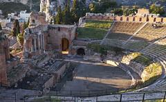 Taormina, Teatro Griego (diocrio) Tags: italia taormina sicilia