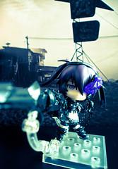Insane Black Rock Shooter (buttiesqueak) Tags: olympus figurine goodsmilecompany nendoroid blackrockshooter zuiko1250mm insaneblackrockshooter olympusem5