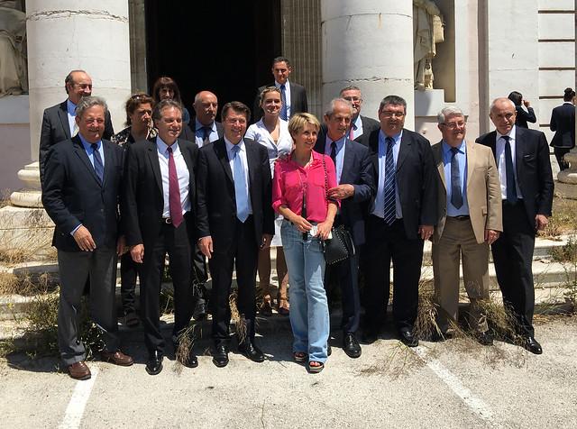 Visite de Christian Estrosi à Toulon