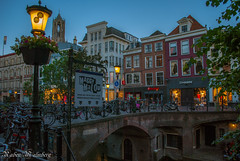 Thursday night at the Oudegracht (Gainesvilledutchie) Tags: city travel holland netherlands amsterdam photography evening canal europe utrecht domtoren nederland historic explore dome oudegracht citytrip