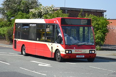 Halton Transport Optare Solo 57 LIG1623 - Widnes (dwb transport photos) Tags: bus solo widnes optare haltontransport lig1623