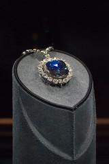 The Hope Diamond V (John Bense) Tags: blue light reflection history rock museum diamonds hope washingtondc smithsonian necklace shine natural jewelry exhibit diamond naturalhistory institute geology gem curse jewel