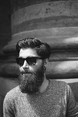 Mr. Martinez (Flowing Creation) Tags: blackandwhite bw man beard glasses model sw leonardo martinez schwarzweis flowingcreation florianwohlleben stefanieszekies