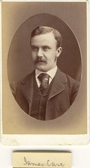 James Case - in Australia - July 1879 (Named Faces from the Past) Tags: portrait vintage sydney australia 1879 jamescase sladeandking
