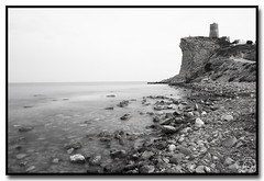 Torre del Xarco (Elas Gomis) Tags: tower beach long exposure torre cove playa bn alicante filter 400 nd arco cala larga exposicin filtro villajoyosa eliasgomis
