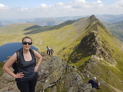 KTStridingEdge (Conor Lawless) Tags: katy striding edge helvellyn kt lake district