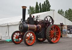 Traction Engine Diamond Queen at Toddington (davids pix) Tags: traction engine railway steam queen diamond gloucester gala 2016 toddington warwicksire 30052016