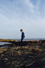 (Bryony_) Tags: holiday beach seaside fishing cornwall penzance rockpools