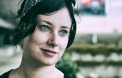 On a cloudy day. (vito.chiancone) Tags: portrait ritratto primo piano ragazza australia queensland qld occhi blue eyes cloudy day