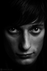 Nicholas (Anna Atlas) Tags: portrait blackandwhite man monochrome artwork fineart photoart studioportrait fineartphotographer
