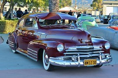 Mooneyes X-Mas Party 2015 (USautos98) Tags: 1947 chevrolet fleetline bomb hotrod streetrod custom chevy