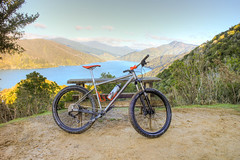 Hardtailing it on the QCT. (Phil Webby) Tags: new mountain pine track charlotte marin queen zealand nz hardtail qct