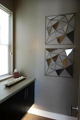 Mirror Art (Heath & the B.L.T. boys) Tags: art modern bathroom mirror candle tray