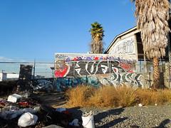 (gordon gekkoh) Tags: graffiti losangeles los angeles erie bonk jaber hufr
