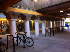 bike racks @ 57th Street
