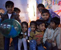 Kids celebrating Shivaratri (Simon M Turner) Tags: india kids children rajasthan jodhpur shivaratri