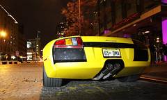 Murcielago. (Damian Morys Photography) Tags: new york city nyc car yellow district fast exotic lamborghini loud rare supercar 62 meatpacking murcielago v12 lp640 murcie