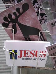At a tourist shop Västerlånggatan (Monkan) Tags: stockholm postcards touristtrap västerlånggatan touristshop vykorts
