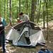 20110604 1649 - Matthew helps Carolyn set up the tent - GEDC0141