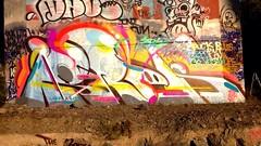 ISREK (UTap0ut) Tags: california ca street art cali graffiti mural paint tag style can spray graff aerosol aub 159 aubk 159k isrek