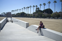 Welcome to Los Angeles! (susan catherine) Tags: palms losangeles lacma x100 levitatedmass bymichaelheizer