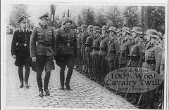 SS-Officers Inspecting Troops (80s Muslc Rocks) Tags: uniform general boots military nazi ss parades parade marching officer secondworldwar officers breeches unifom ridingbreeches steelhelmet 1939194019411942194319441945 officerswearing