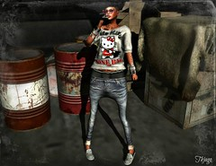 ..:: OUTFIT 32 ::.. (NyTrO StOrE) Tags: street urban woman man store mesh wear clothes hip hop styel nytro
