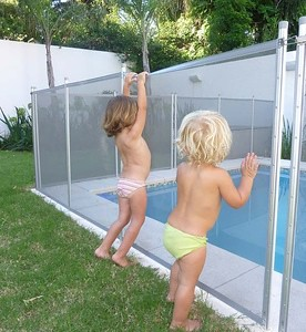 security glass pool fence
