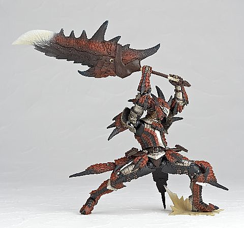 海洋堂 Revoltech No.123 Monster Hunter 魔物獵人 男劍士