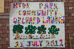 Hyde Park Community Orchard launch (operationfarm) Tags: manchester community unitedkingdom orchard hydepark parkcafe tameside muoo operationfarm creditdavegee fundedbygroundworkukandthebiglotteryfundscommunityspacesprogramme