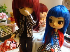KURO Extra - Ruby is here! (Lunalila1) Tags: hospital outfit doll track handmade dal wig shade angry nakano groove pullip yoshi kuro noa urasawa susumi taeyang stica rubyishere
