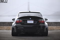 Lance's Widebody e90! (Watson Lu) Tags: out wide down v3 20 330i lowered kw stance dpe widebody e90 328i 335i vorsteiner e9x prelci
