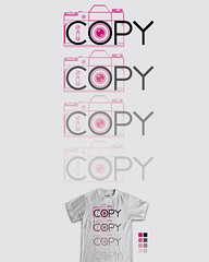 In time this too will fade (bortwein75) Tags: camera typography photography design text humor tshirt font copy pun