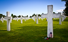 American War Cemetery - Normandy, France. (David Holleman) Tags: vacation france cars netherlands canon eos guitar song sigma f1 racing sound airbus bmw formula spitfire boeing audie motorsport 550d