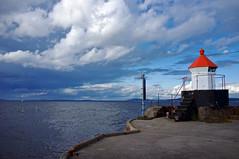 Fyret i Fyllinga (Kjell-Arne) Tags: norway day cloudy horten vestfold
