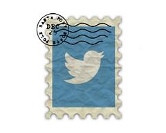 Vintage Twitter Logo Poster