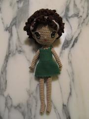 Dee in Green Dress (Njtexas94) Tags: family crochetdolls freespiritamigurumi