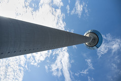 Sky High (Edwin van Nuil Photography) Tags: tower dusseldorf fujifinepixx100 wclx100