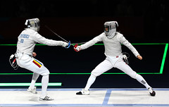 Korea_London_Fencing_09 (KOREA.NET - Official page of the Republic of Korea) Tags: london football korea korean fencing olympic southkorea  rpublique 2012    republicofkorea teamkorea       rpubliquedecore cir republiquedecoree    2012londonolympicgames