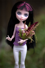 Daniella (Trotilla) Tags: handmade top violet 2012 crocheting 201208 monsterhigh draculaura ooakbyjewel