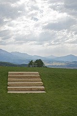 Stairway to Heaven? (Doug Cain Photography) Tags: mountains tourism clouds stairs landscape rockies outdoors nikon colorado god horizon faith scenic overcast illuminated holy alpine vista remote nikkor solitary highcountry tpslandscape
