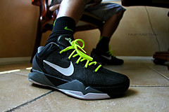 (Never Wear Them) Tags: white black basketball shirt grey cool shoes wolf zoom you 7 nike system wear kobe what did today r7 ronaldo vii volt christiano wdywt