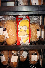 (Levi Mandel (sea kay)) Tags: film 35mm bread real weird store sweden dough simpsons scan homer gothamist getit malm simpson doh
